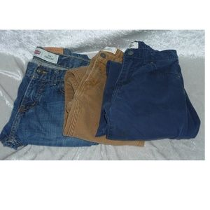 Boys Levis set of 3 Jeans, Pants Ripped size-10